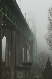 濃霧のSt Johns Bridge-3500
