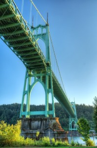 St Johns Bridge-2013年夏-7081_HDR