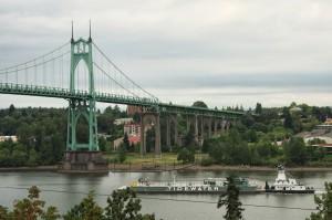 St Johns Bridge南側より-2013年夏-7160
