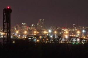Broadway Bridgeの夜景-2013年夏-7251