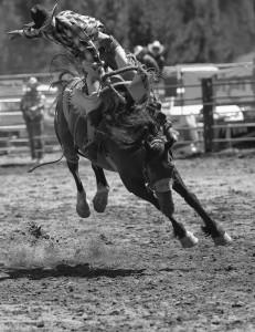 La Pine Rodeo-7924-BW