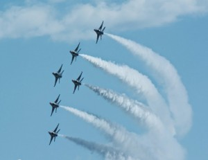 Thunderbirds delta formation-5852