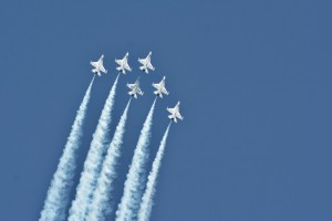 Thunderbirds delta loop-5910
