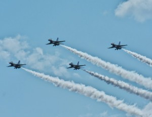 Thunderbirds diamond formation-5605