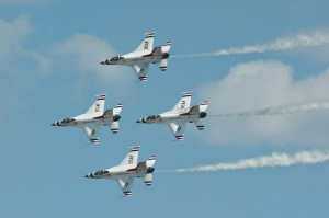 Thunderbirds diamond formation-5670
