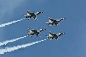 Thunderbirds diamond formation-5785
