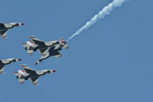Thunderbirds diamond formation-5786