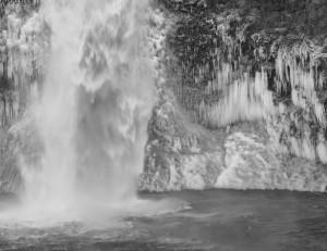 Horsetail Falls-5024-BW