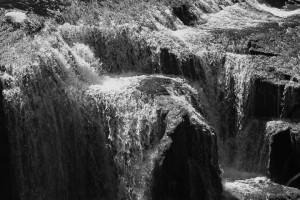 Lower Lewis River Falls-3933-BW