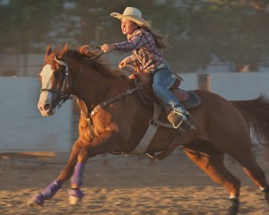 McMinnville Rodeo-Barrel Racing-4589