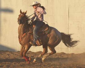 McMinnville Rodeo-Barrel Racing-4607