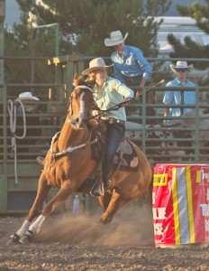 McMinnville Rodeo-Barrel Racing-4620