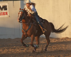 McMinnville Rodeo-Barrel Racing-4693