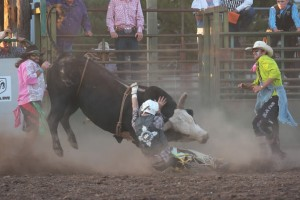 McMinnville Rodeo-Bull Riding-4730