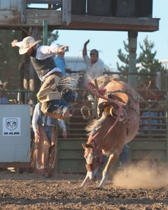 McMinnville Rodeo-Saddle Bronc Riding-4390