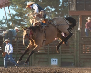 McMinnville Rodeo-Saddle Bronc Riding-4403