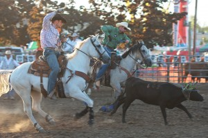 McMinnville Rodeo-Team Roping Heeler-4468