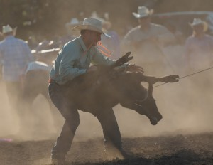 McMinnville Rodeo-Tie Down Roping-4270