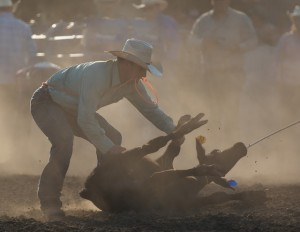 McMinnville Rodeo-Tie Down Roping-4271