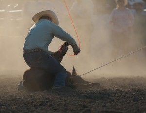 McMinnville Rodeo-Tie Down Roping-4273