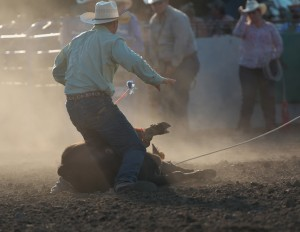 McMinnville Rodeo-Tie Down Roping-4275