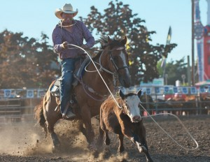 McMinnville Rodeo-Tie Down Roping-4281