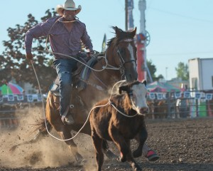 McMinnville Rodeo-Tie Down Roping-4282