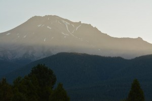 Mt Shasta - Best Western Hotelより-日の出-6238