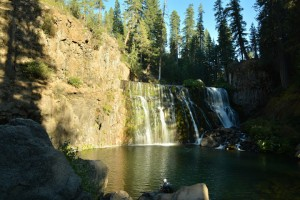 Mt Shasta - Middle McCloud Falls-5804