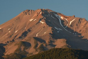 Mt Shasta - Best Western Hotelより-日暮れ-6186