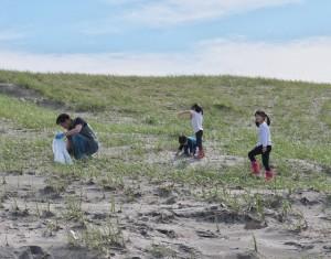 海岸清掃-2016年3月-1230